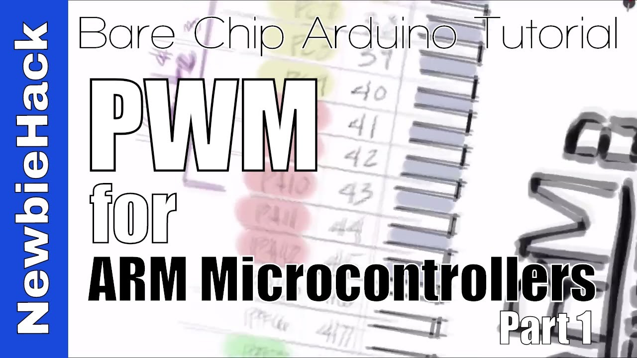 43  How to Use or Create a PWM (Pulse Width Modulation) Signal Part 1 -  STM32 ARM Microcontroller