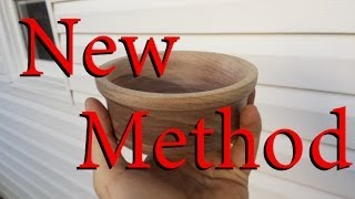 Turning Wooden Bowl On Miter Lathe Combo - Fastest Tool Ever!!