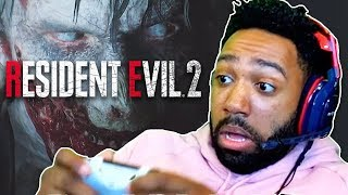 WHY ARE THESE ZOMBIES HANGRY AF?!?!?! - Resident Evil 2