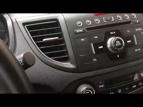 Removal Radio  Honda CRV ( 2012-2015) Winca S160