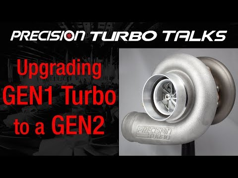 Upgrading a GEN1 Turbocharger to a GEN2