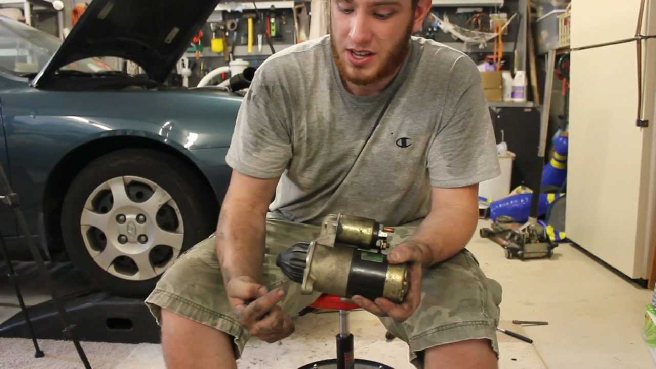 maxresdefault how to replace your starter hyundai elantra 01 06 youtube
