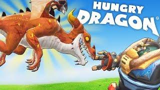 НОВЫЙ ОПАСНЫЙ ДРАКОН ПРОТИВ РОБОТА   Hungry Dragon