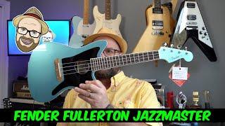New Fender Fullerton Jazzmaster Ukulele! Look n Play