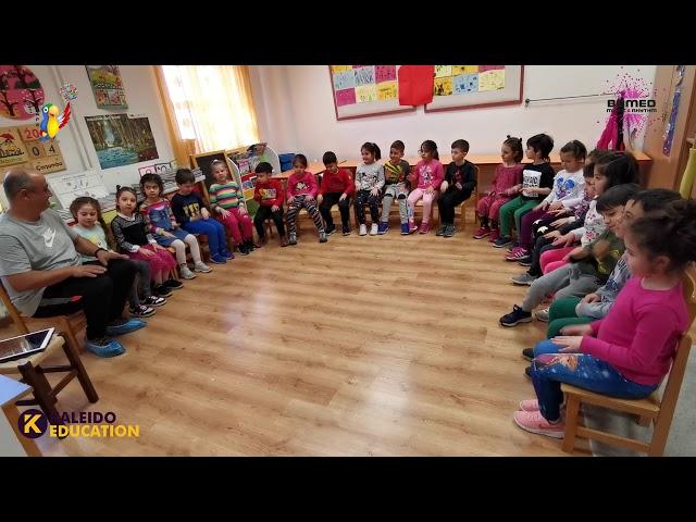 Susanna kindergarten Body Percussion