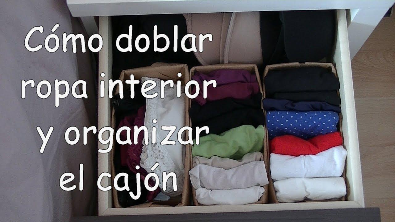Cómo Doblar Camisetas Para Identificarlas Fácilmente Método Del Bolsillito Youtube