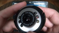 6 LED Night Vision Webcam PC Camera Review And Instructions