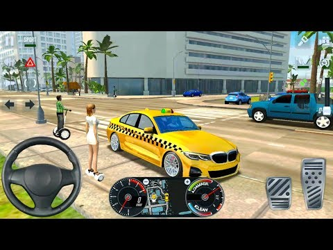 Taxi Simulator 2020 By Ovilex - BMW And Volvo Taxi Driving - Android IOS Gameplay