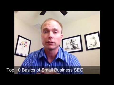 Top 10 Basics of Small Business SEO