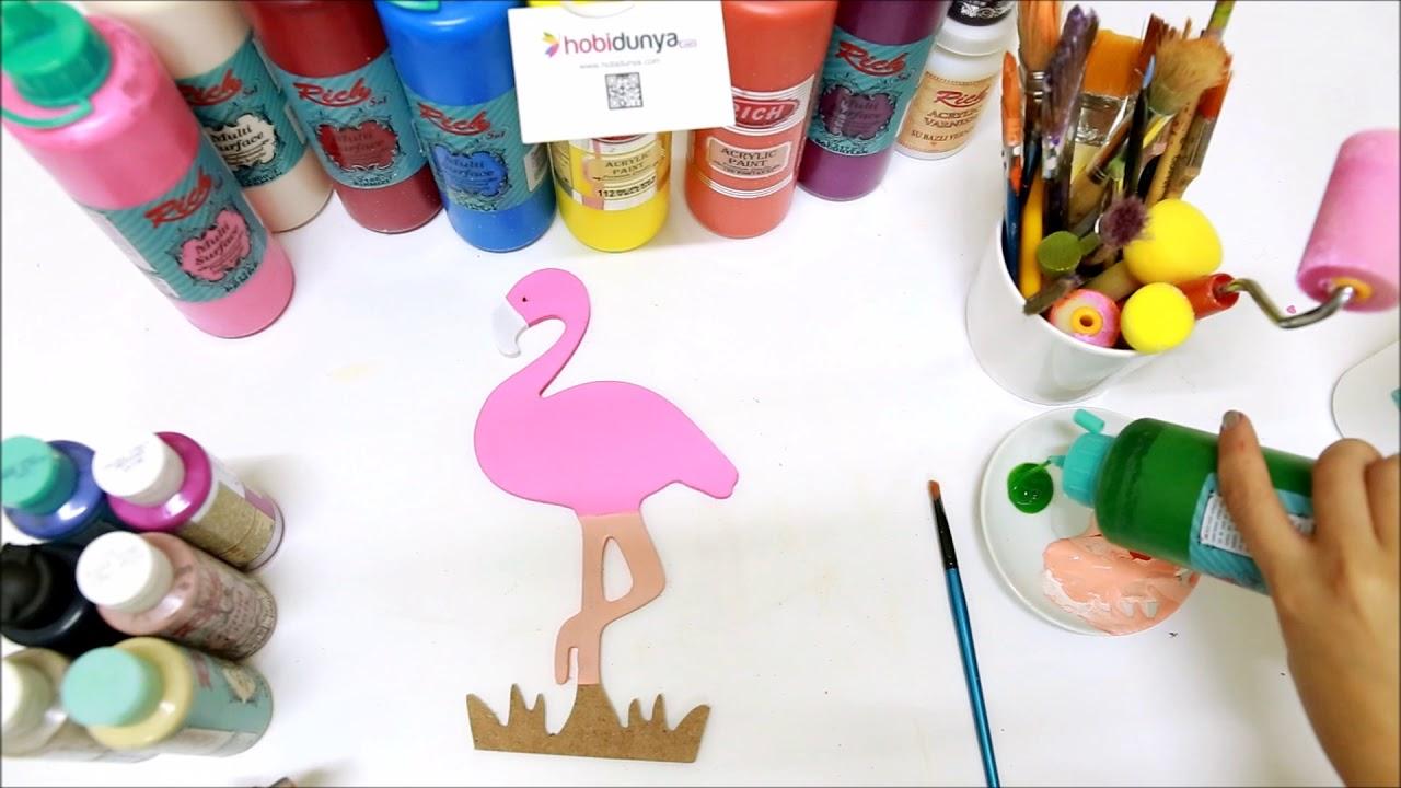 Ahsap Flamingo Boyama Youtube