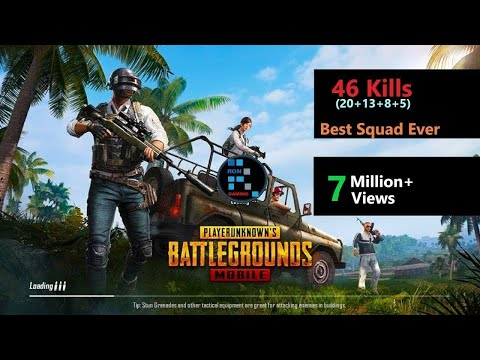 "[Hindi] PUBG Mobile | ""46 Kills"" Best Squad Ever"