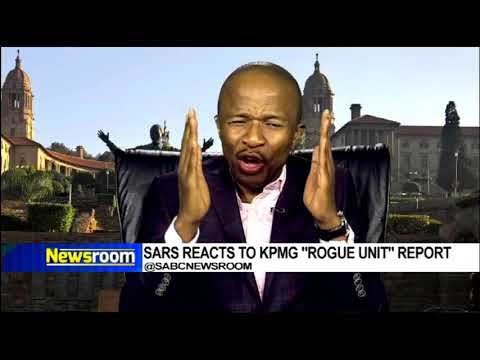 SARS reacts to KPMG 'Rogue Unit' report