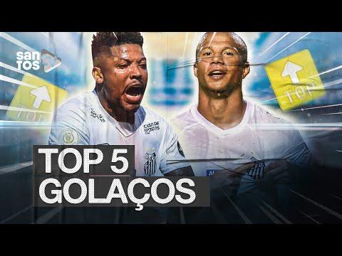 TOP 5 | GOLAÇOS DO SANTOS EM 2019