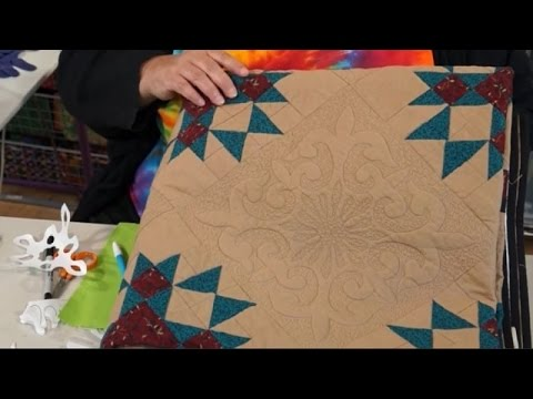 How to Use freezer paper as a template with Paula Doyle (taster video)