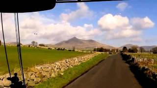 Where the Mountains of Mourne sweep down to the sea