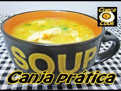 Canja de galinha deliciosa e prática na panela de pressão - Cueca Cook # 052