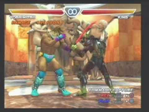 Tekken 4 Yoshimitsu Some Secret Copy Blade Soul Stealer Youtube