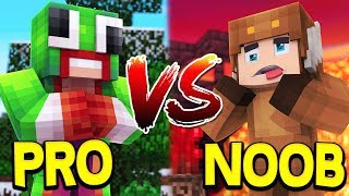 UNSPEAKABLEGAMING VS. MOOSECRAFT - MINECRAFT BATTLE!