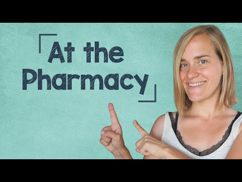 German Lesson (162) - At the Pharmacy - In der Apotheke - Vo