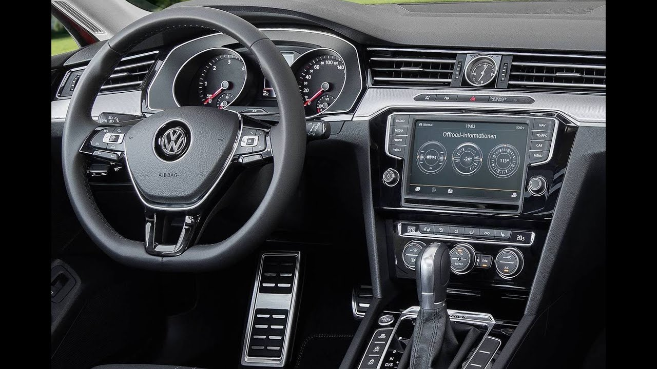 2016 Volkswagen Passat Alltrack Interior Youtube