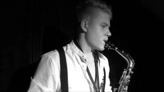 """Gambar cover Titanic Theme """"My Heart Will Go On"""" - Sax Cover (Studio performance by a young artist)"""