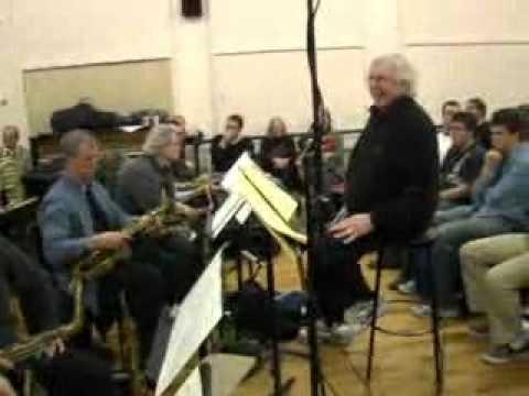 The Late Bob Brookmeyer & Vanguard Jazz Orchestra Rehearsal; Manhattan Music School