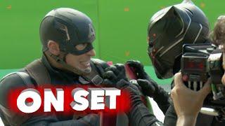 Captain America: Civil War: 4k Behind the Scenes Movie Broll - Robert Downey Jr, Chris Evans