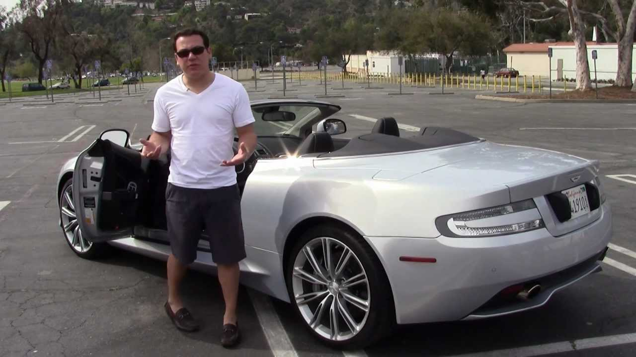 The Snob Magazine Reviews The 2012 Aston Martin Virage Volante Youtube