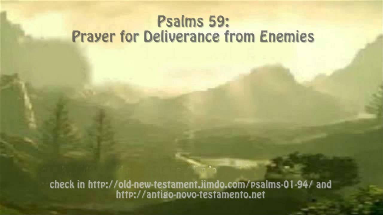 Psalms 59: Prayer for Deliverance from Enemies