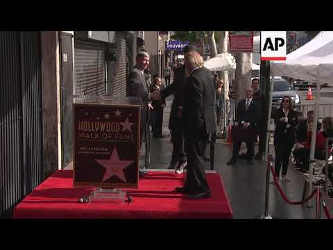 Nick Nolte gets a star on the Hollywoood Walk of Fame
