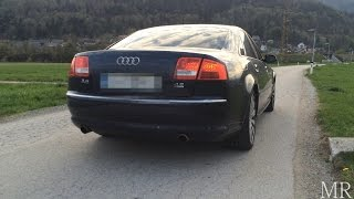 2005 Audi A8 4.2L V8 - Sound, Acceleration and Drive