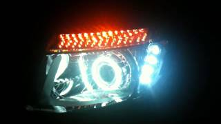 Front Headlight of Ford Ranger T6
