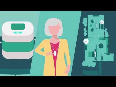 Setting Up Your Philips Lifeline HomeSafe Cellular Medical Alert System