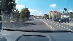 Durch Freiberg mit dem Auto im September 2018