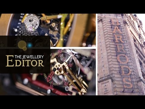 Richard Mille watches at Harrods: Come window shopping with us!