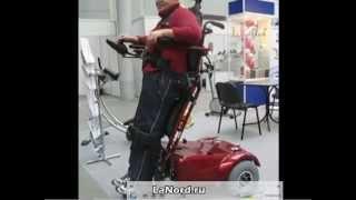Инвалидная коляска с электроприводом(Купить инвалидную коляску с электроприводом можно в магазине LaNord.ru. Доставка по Москве и всей России., 2015-10-08T13:09:01.000Z)