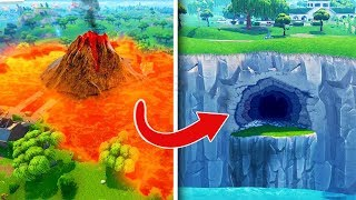I found a secret place at Fortnite!
