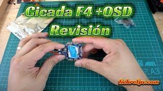 Cicada F4 + OSD  (FC AIO) revisión en español