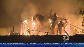 At Least 10 Dead In California Wildfires thumbnail