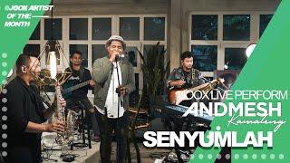 ANDMESH - SENYUMLAH (JOOX LIVE PERFORMANCE)