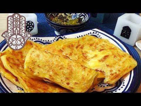 msemen-au-jambon-de-poulet-et-fromage