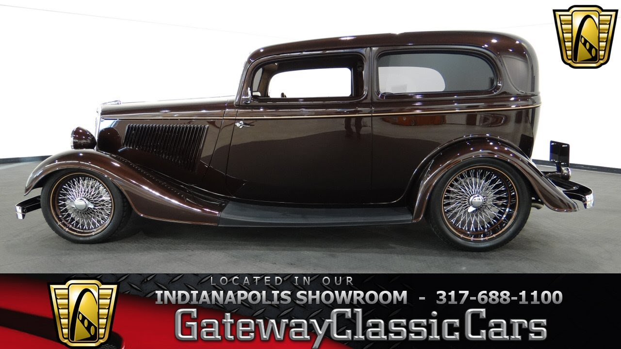 1934 Ford Tudor #475-ndy Gateway Classic Cars - Indianapolis