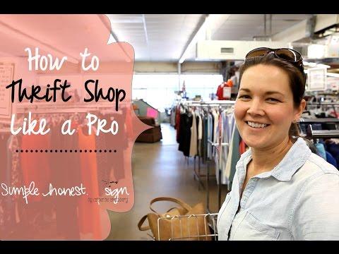 Thrift Shop Like A Pro | Simple.Honest.Design