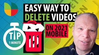 Easy way : DeĮete YouTube Videos 2021 (Mobile)