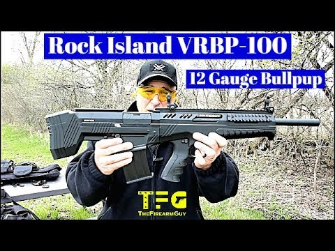 Rock Island VRBP-100 Bullpup 12 Gauge Shotgun (NEW 2019) - TheFireArmGuy