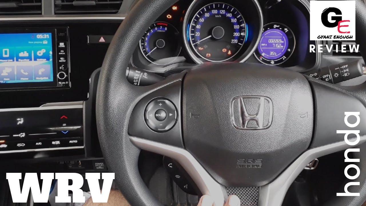 Honda Wrv 2018 Edition Detailed Review Interiors Exteriors