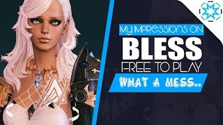 My First Impressions Of Bless Online FREE TO PLAY