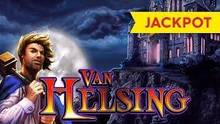 JACKPOT HANDPAY! Van Helsing Slot - $10 Bet - UNBELIEVABLE, YES!
