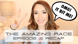 THE AMAZING RACE EPISODE 2 RECAP! | Blair Fowler