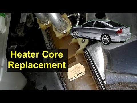 How to repalce the heater core in the Volvo S80 vehicle. - VOTD